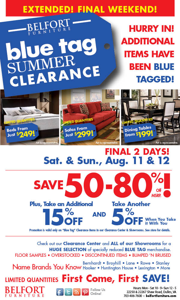 Belfort Clearance Sale